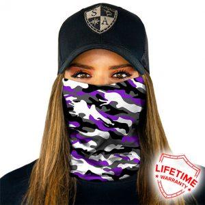 Amethyst Military Camo maska