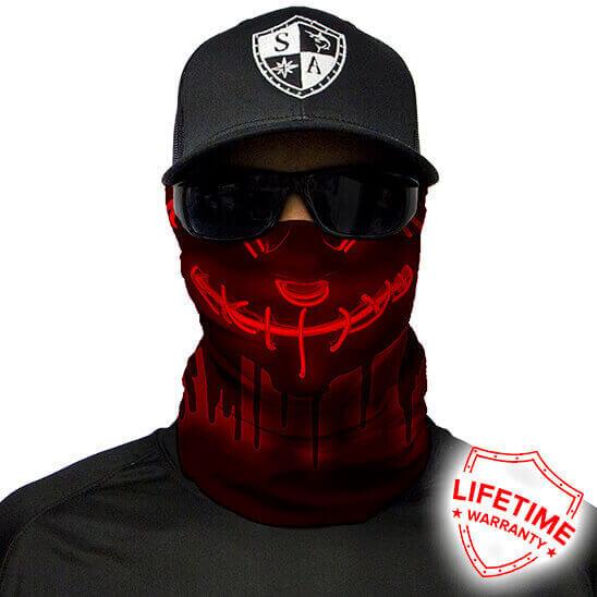 Neon Purge Red maska