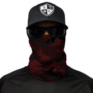 Radar Camo Red maska