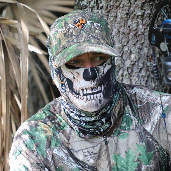 SA Forest Camo Dregs Skull maska