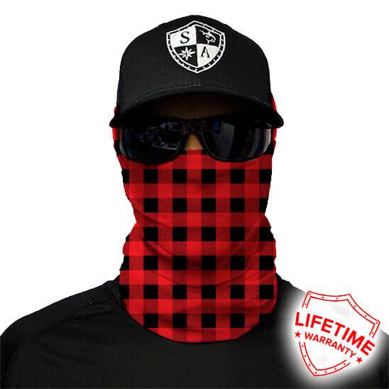 SA Lumberjack Red maska